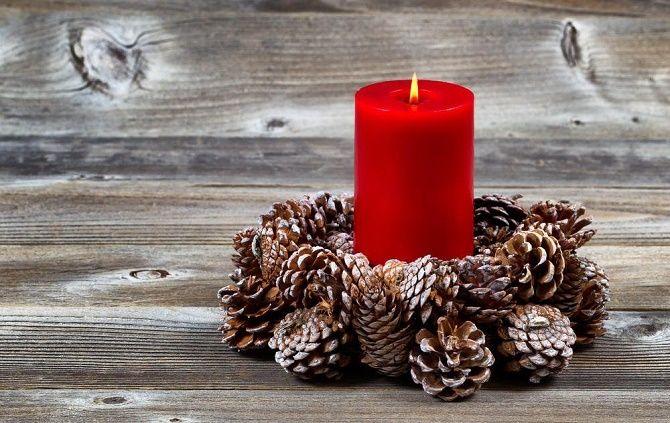 Как сделать новогодние подсвечники своими руками – лучшие идеи 8
