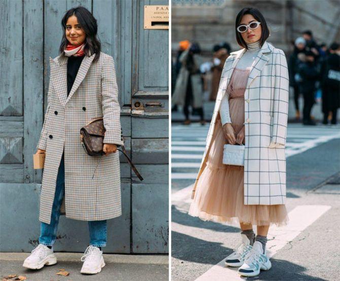 Какую обувь сочетать с пальто 12