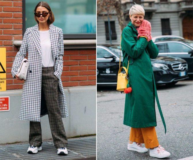 Какую обувь сочетать с пальто 13