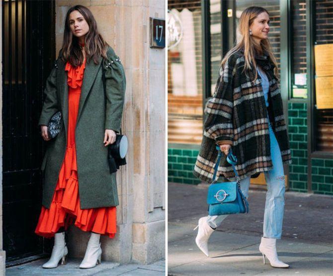 Какую обувь сочетать с пальто 15