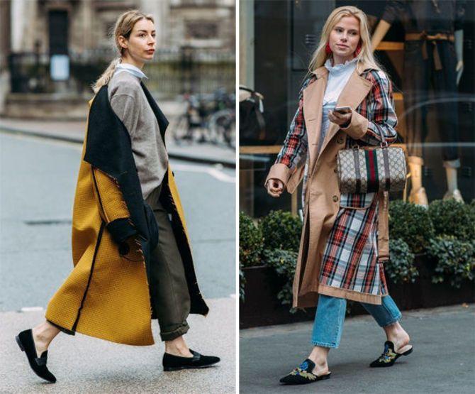 Какую обувь сочетать с пальто 17