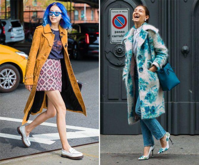 Какую обувь сочетать с пальто 8
