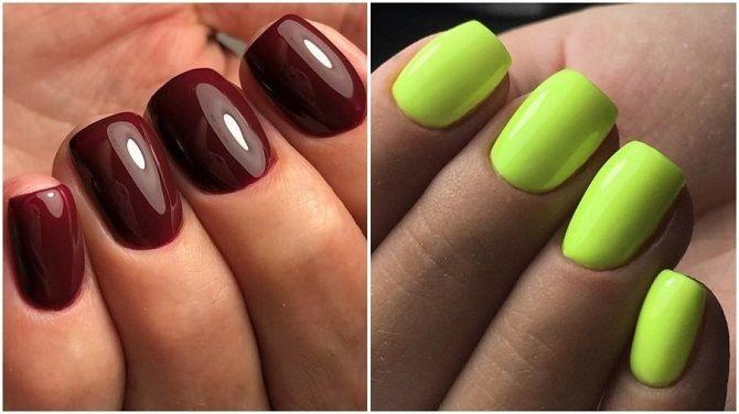 Однотонний манікюр 2020-2021: кращі кольори та нейл-дизайни, 50 ідей крутих нігтиків 2