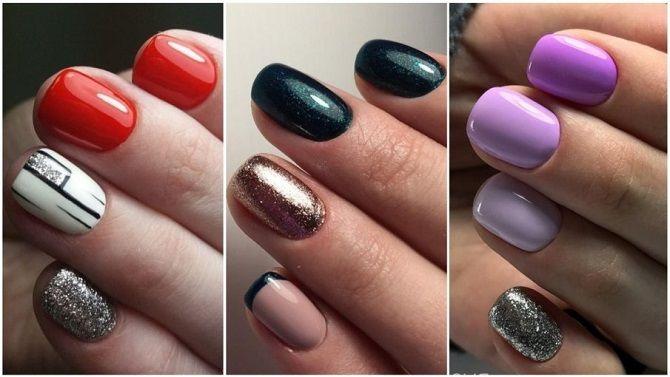 Однотонний манікюр 2020-2021: кращі кольори та нейл-дизайни, 50 ідей крутих нігтиків 17