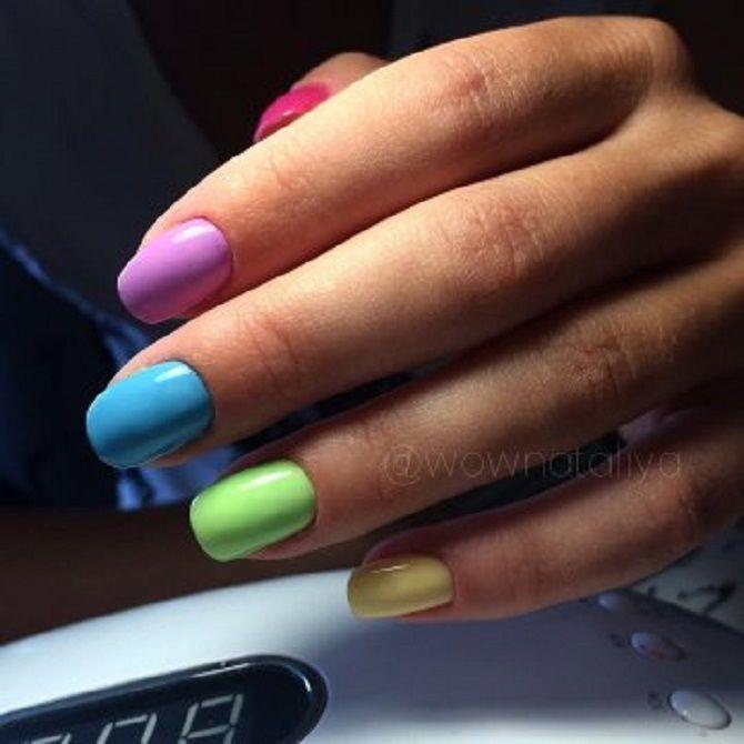 Однотонний манікюр 2020-2021: кращі кольори та нейл-дизайни, 50 ідей крутих нігтиків 22