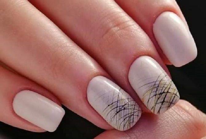Однотонний манікюр 2020-2021: кращі кольори та нейл-дизайни, 50 ідей крутих нігтиків 49