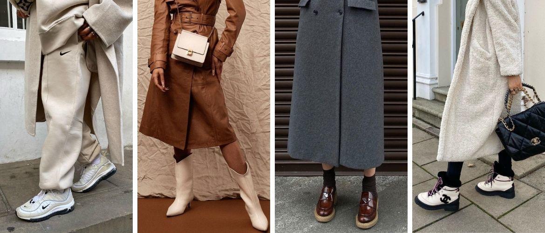 Какую обувь сочетать с пальто