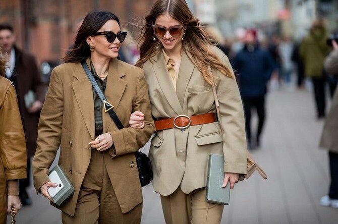 Як носити об'ємні піджаки 2020-2021 1