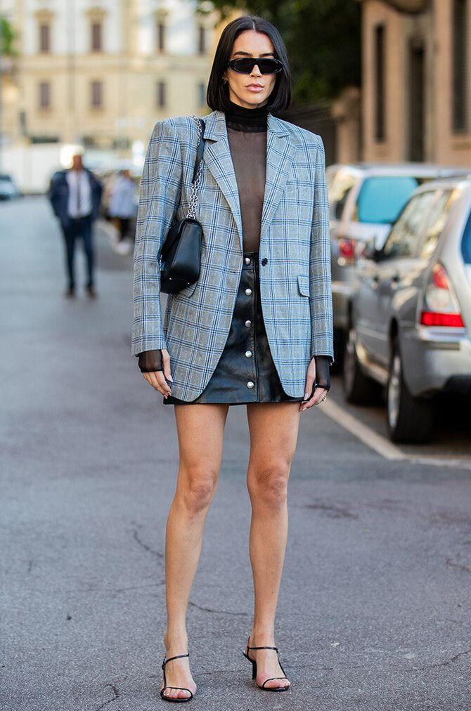 Як носити об'ємні піджаки 2020-2021 11