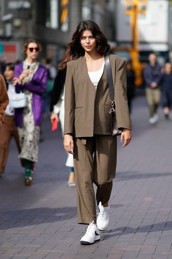 Як носити об'ємні піджаки 2020-2021 16