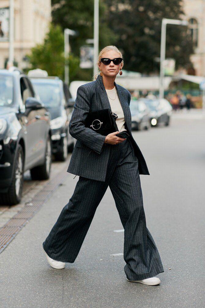 Як носити об'ємні піджаки 2020-2021 17