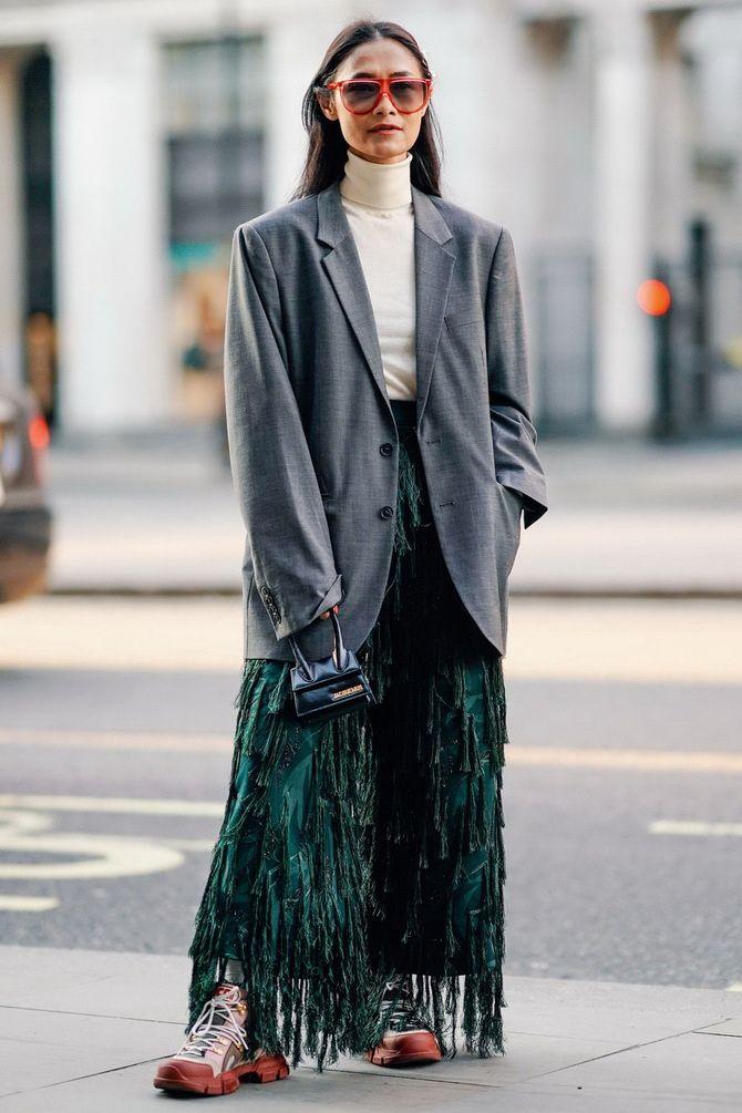 Як носити об'ємні піджаки 2020-2021 18