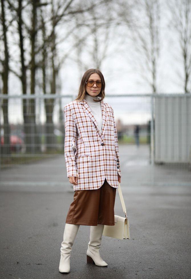 Як носити об'ємні піджаки 2020-2021 19