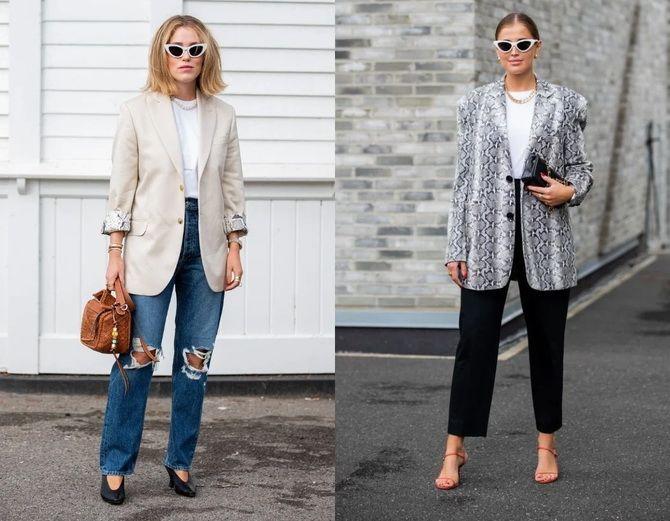 Як носити об'ємні піджаки 2020-2021 2