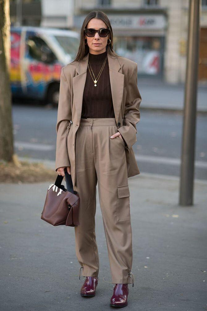 Як носити об'ємні піджаки 2020-2021 23