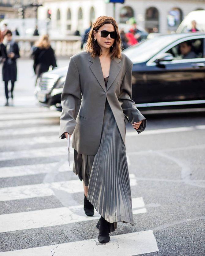 Як носити об'ємні піджаки 2020-2021 25