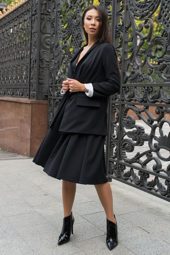 Як носити об'ємні піджаки 2020-2021 26