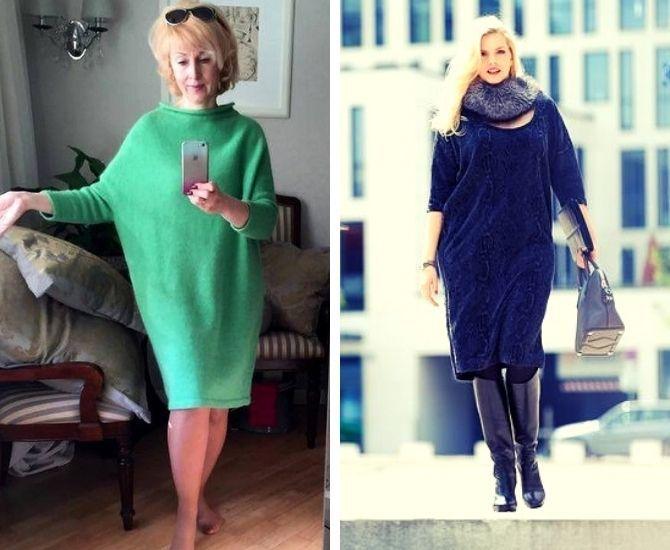 Модные платья летучая мышь: красиво и стильно 6