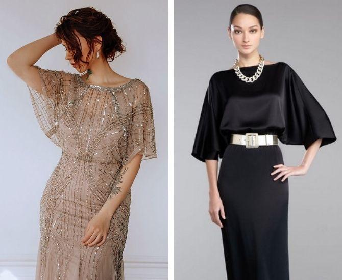 Модные платья летучая мышь: красиво и стильно 4