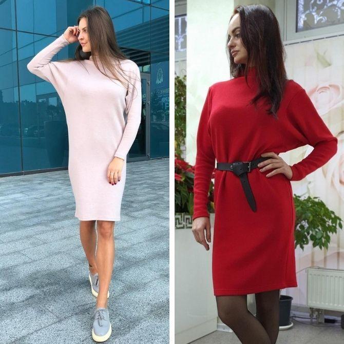Модные платья летучая мышь: красиво и стильно 7