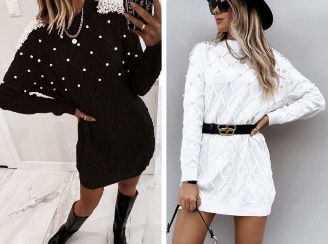 Модные платья летучая мышь: красиво и стильно 9