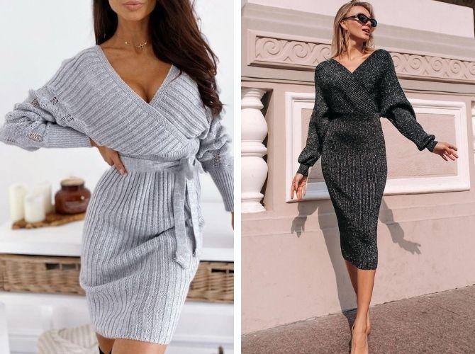 Модные платья летучая мышь: красиво и стильно 10