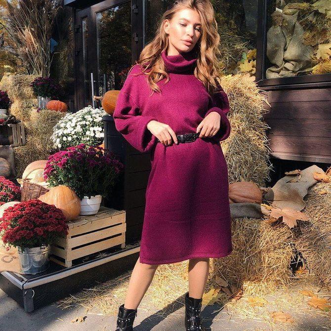 Модные платья летучая мышь: красиво и стильно 12