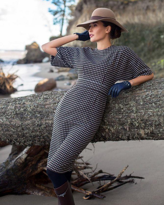 Модные платья летучая мышь: красиво и стильно 18