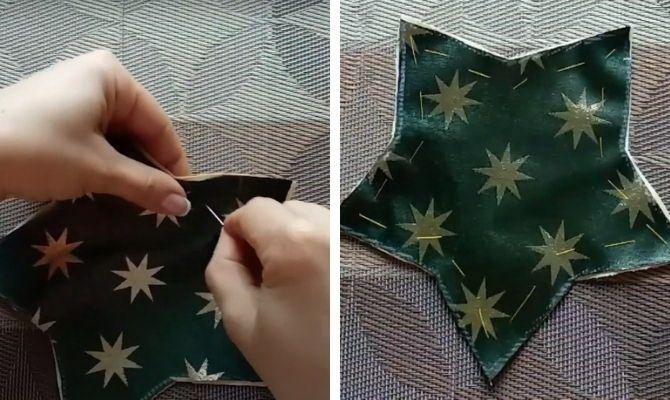 Вироби з тканини на Новий рік: швидко, просто і зі смаком 17