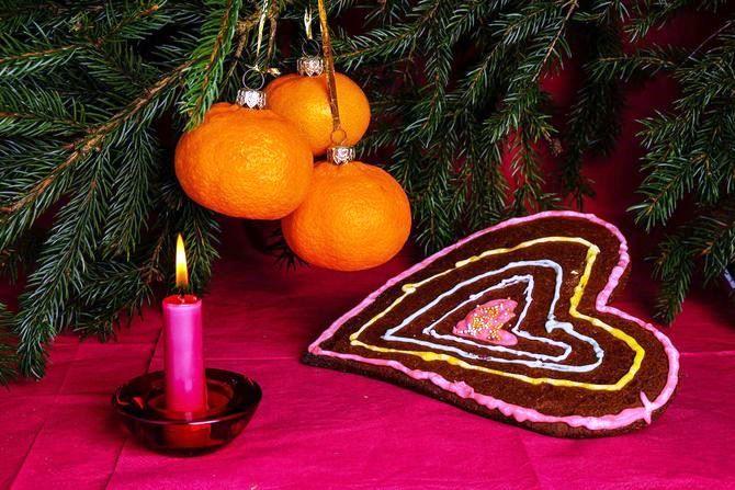 Новогодний декор из мандаринов: 7 необычных идей 2