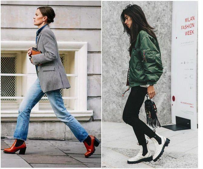 Лучшие сапоги, которые отлично сочетаются с модными джинсами 12
