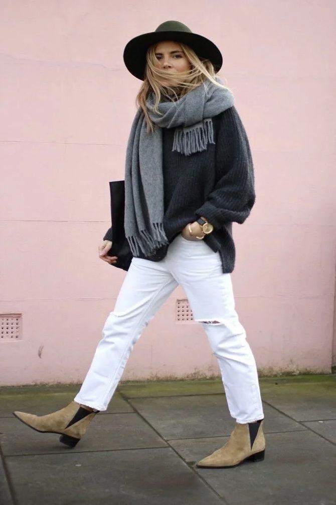 Лучшие сапоги, которые отлично сочетаются с модными джинсами 16