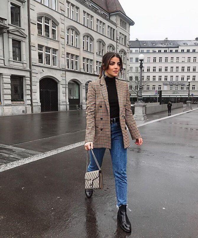 Лучшие сапоги, которые отлично сочетаются с модными джинсами 17