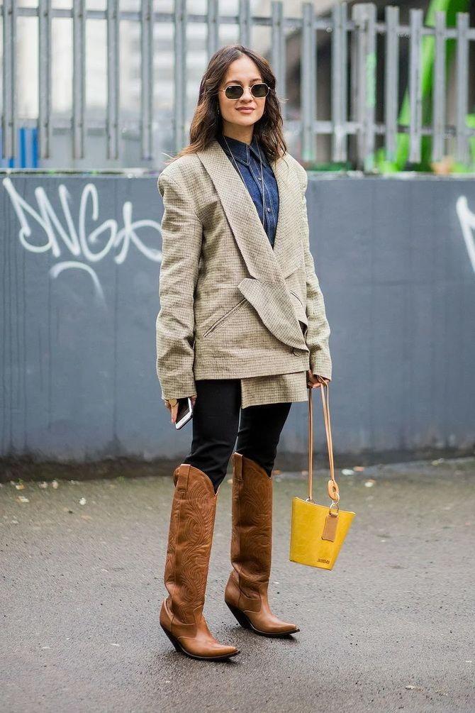 Лучшие сапоги, которые отлично сочетаются с модными джинсами 2