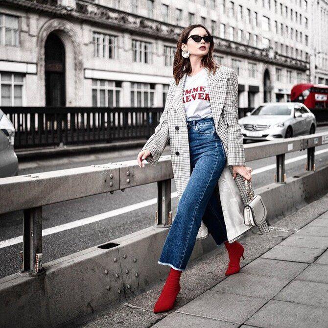 Лучшие сапоги, которые отлично сочетаются с модными джинсами 25
