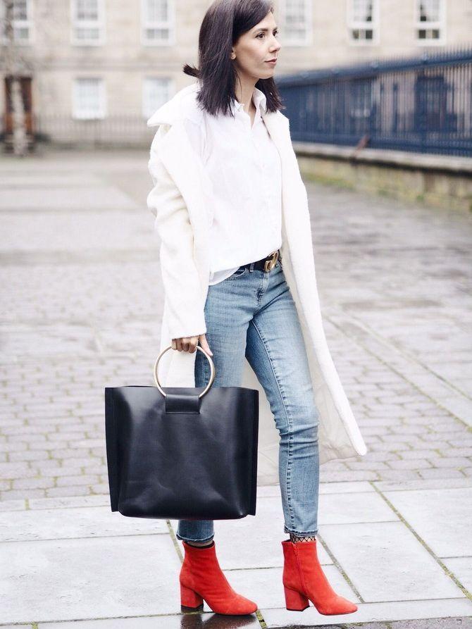 Лучшие сапоги, которые отлично сочетаются с модными джинсами 27