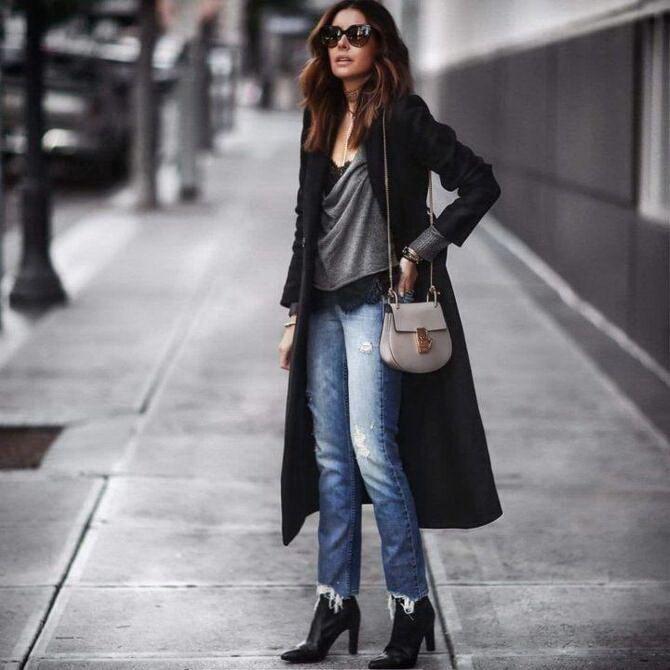 Лучшие сапоги, которые отлично сочетаются с модными джинсами 29