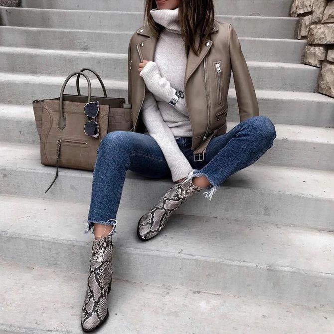 Лучшие сапоги, которые отлично сочетаются с модными джинсами 28