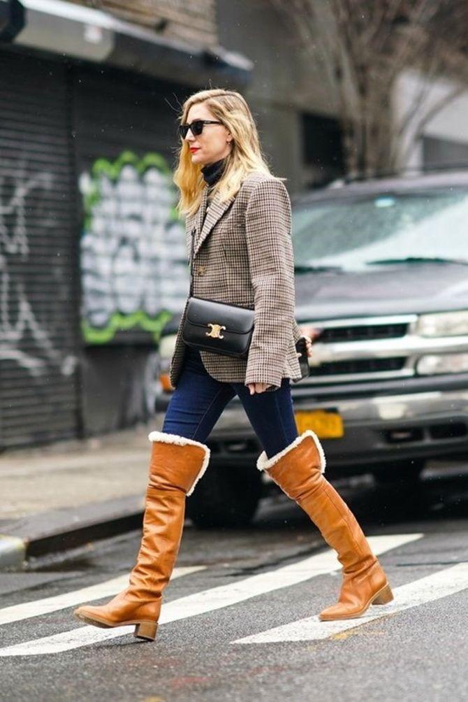 Лучшие сапоги, которые отлично сочетаются с модными джинсами 32