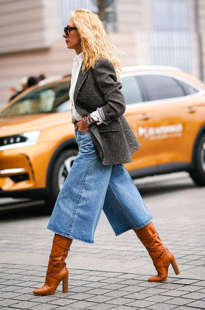Лучшие сапоги, которые отлично сочетаются с модными джинсами 34