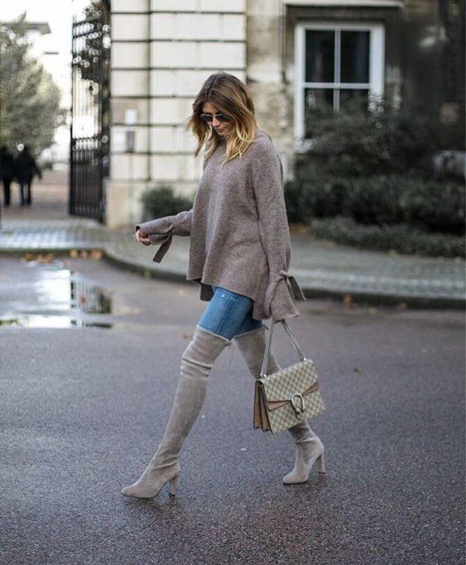 Лучшие сапоги, которые отлично сочетаются с модными джинсами 36