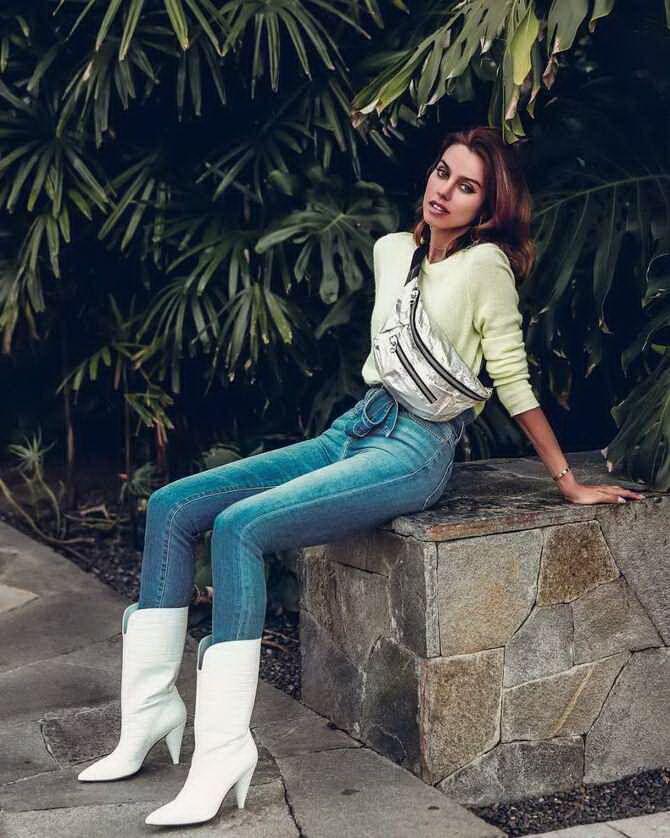 Лучшие сапоги, которые отлично сочетаются с модными джинсами 4