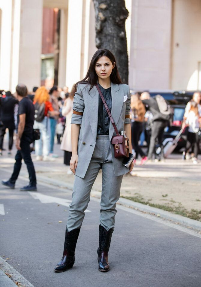 Лучшие сапоги, которые отлично сочетаются с модными джинсами 8