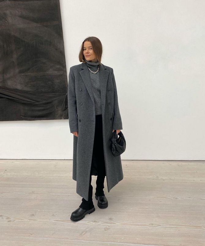 Сірий – актуальний колір зими 2020-2021 36