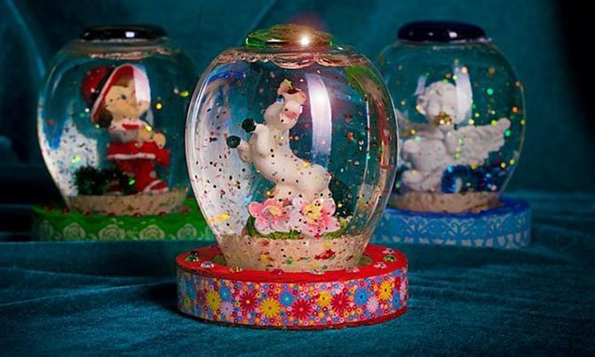 Сніжна куля своїми руками: як зробити новорічне диво 11