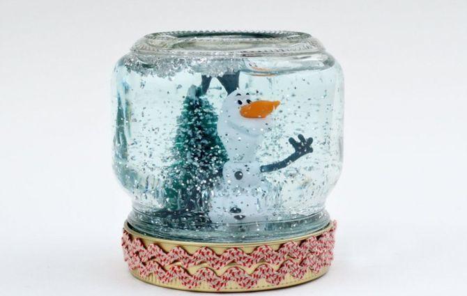 Сніжна куля своїми руками: як зробити новорічне диво 13