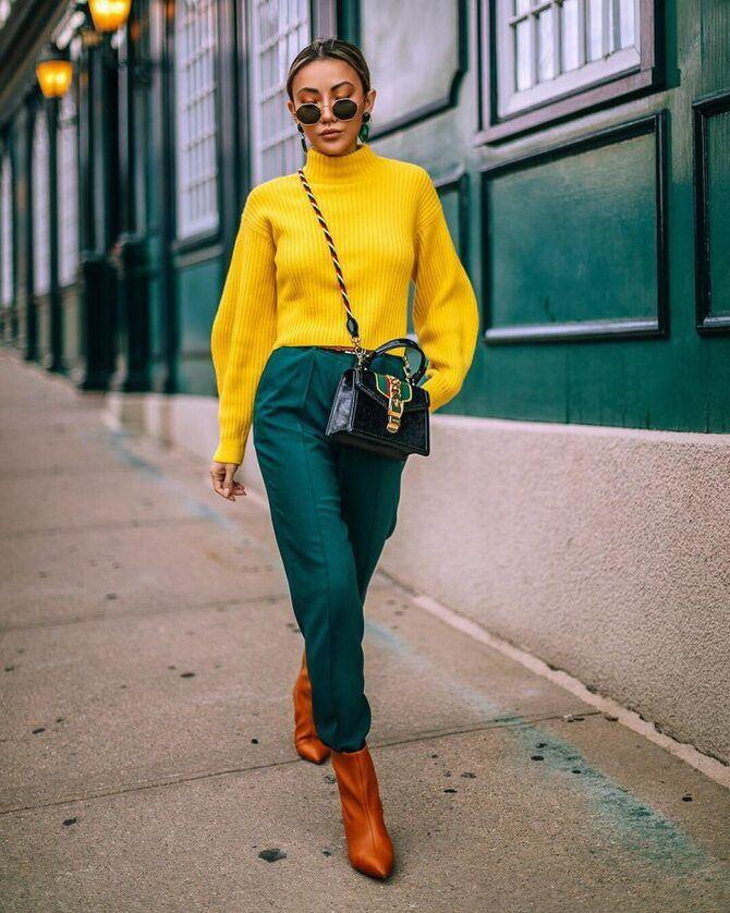 Як поєднувати кольори в одязі, щоб бути модною: 5 кращих варіантів 2020-2021 1