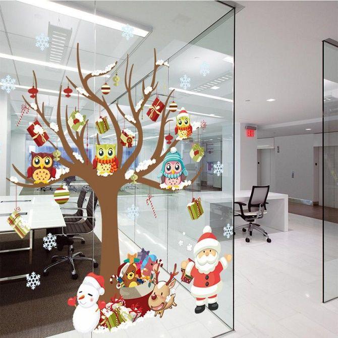 Украшаем офис на Новый год 2021: стильные и интересные идеи 11