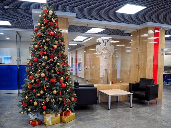Украшаем офис на Новый год 2021: стильные и интересные идеи 23