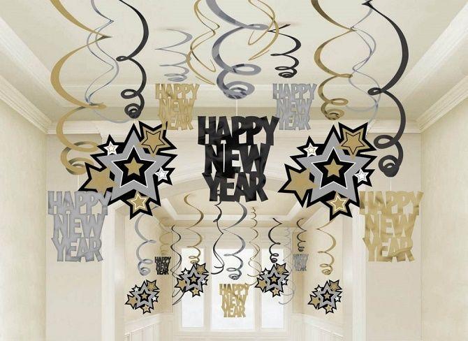 Украшаем офис на Новый год 2021: стильные и интересные идеи 5